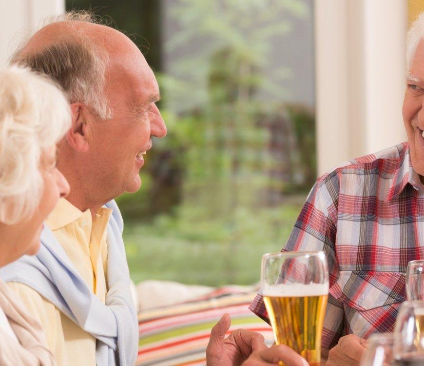 Kaum Durstgefühl im Alter