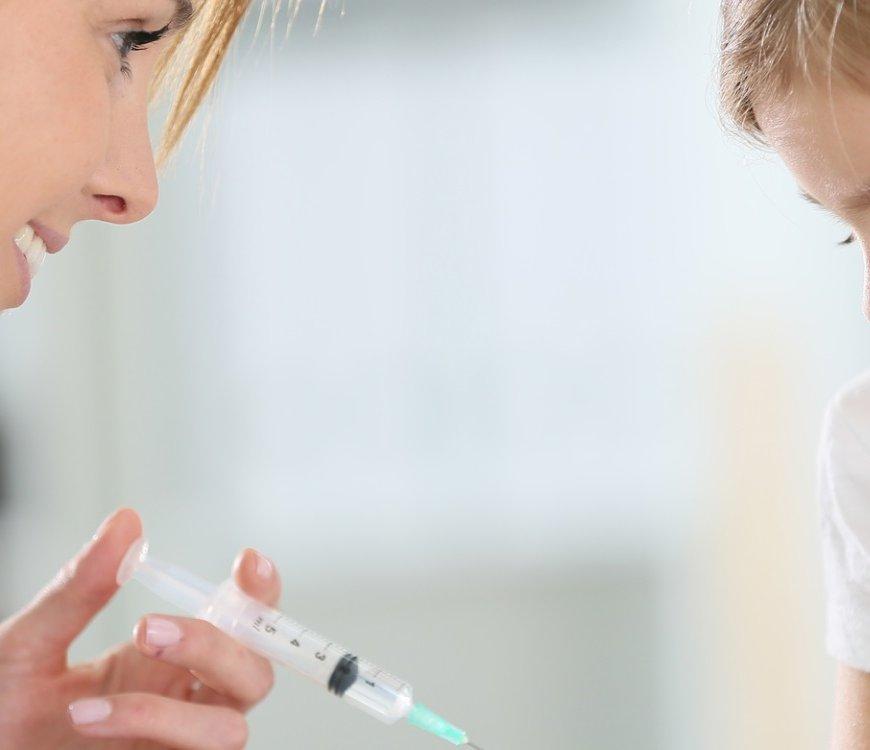 Angst vor Spritzen bei Kindern