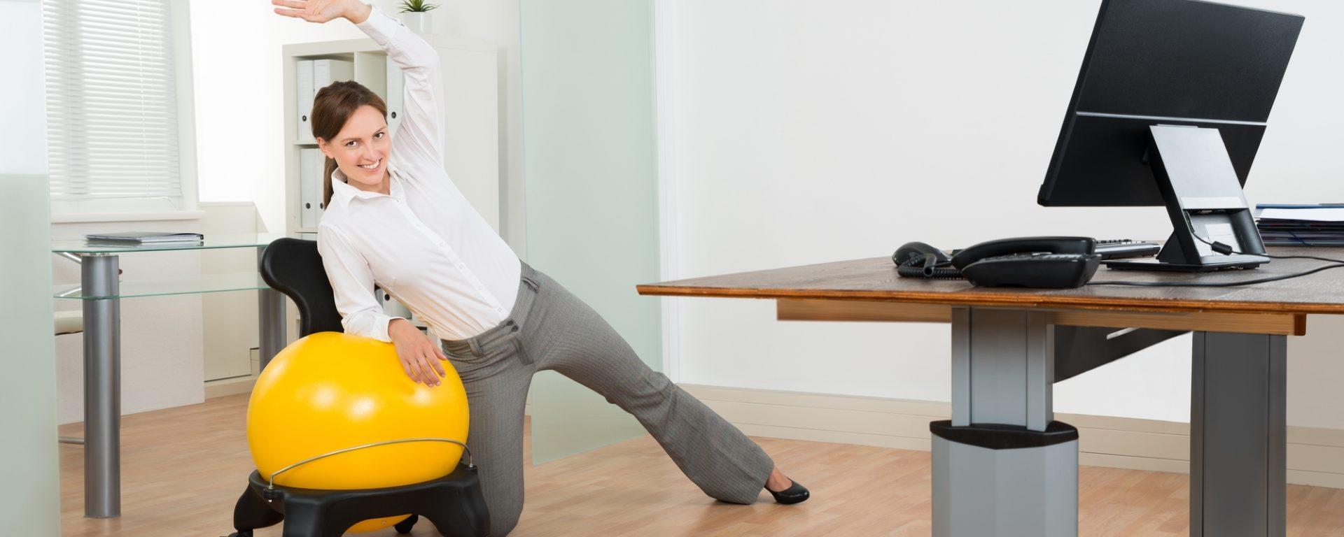 Büro-Fitness für Frauen