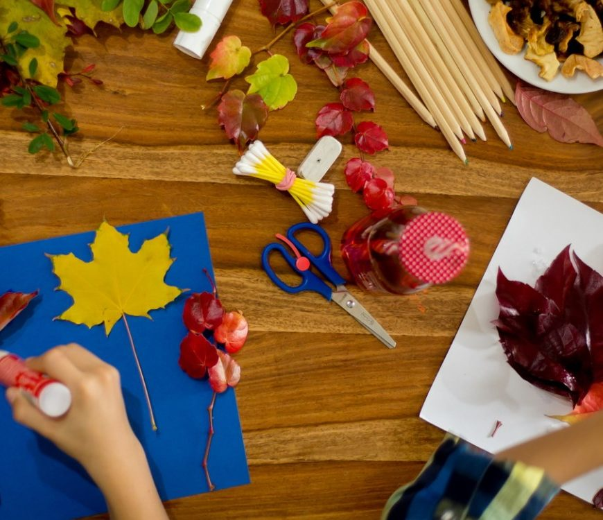 Basteln mit Kindern im Herbst