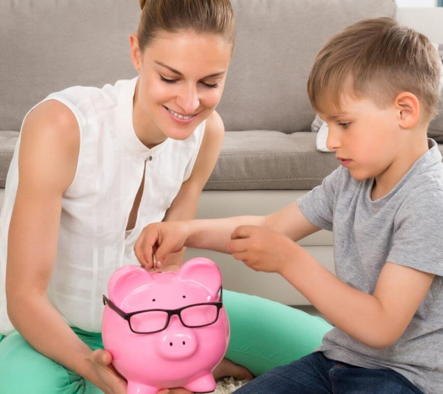 Als Familie Geld sparen