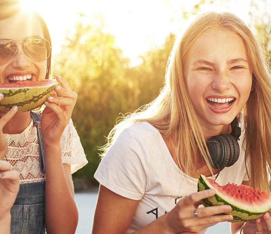 Kühlende Lebensmittel für heiße Sommertage