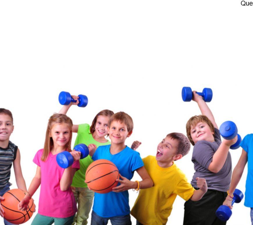 Schulsport-Kinder