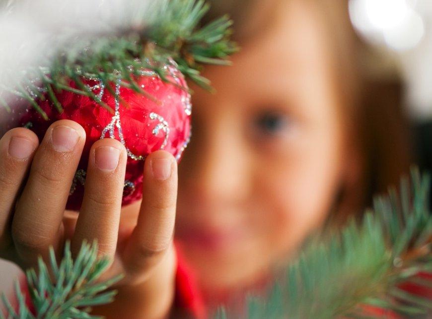 Deko für Weihnachten mit Kindern basteln