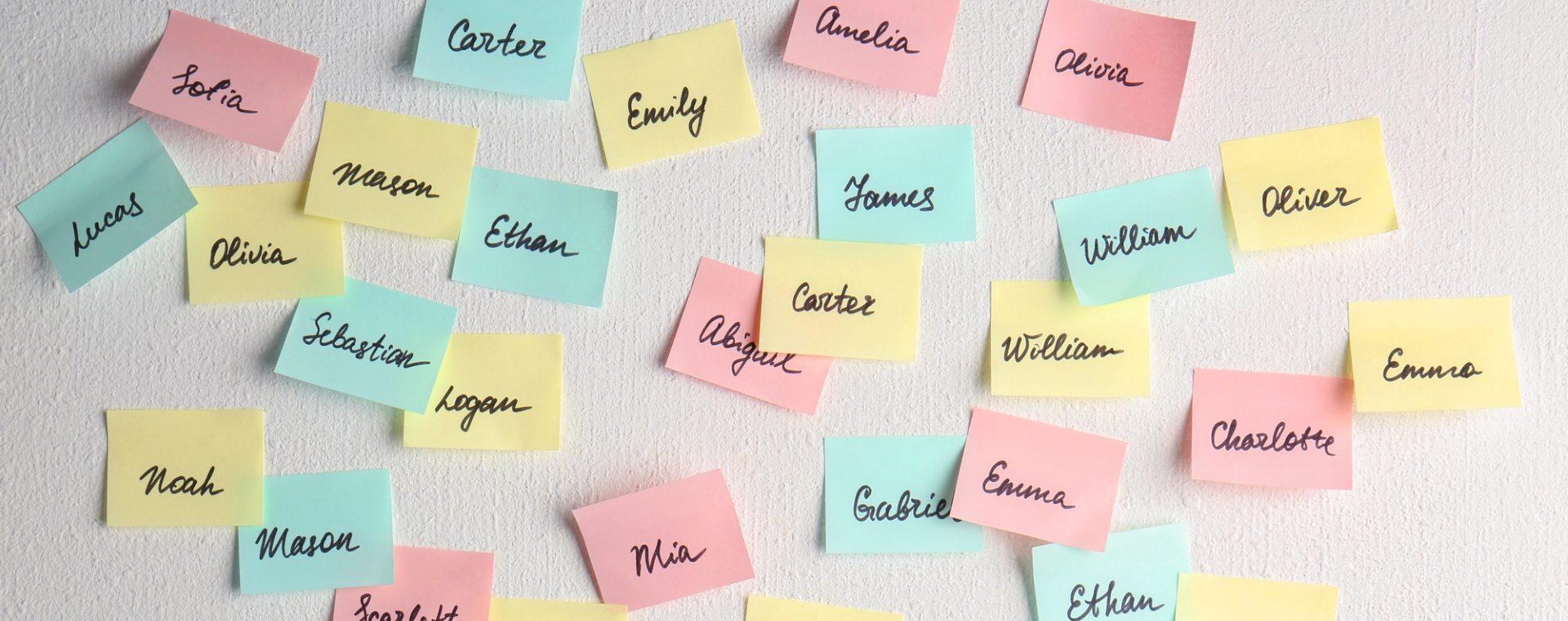 Den richtigen Babynamen finden