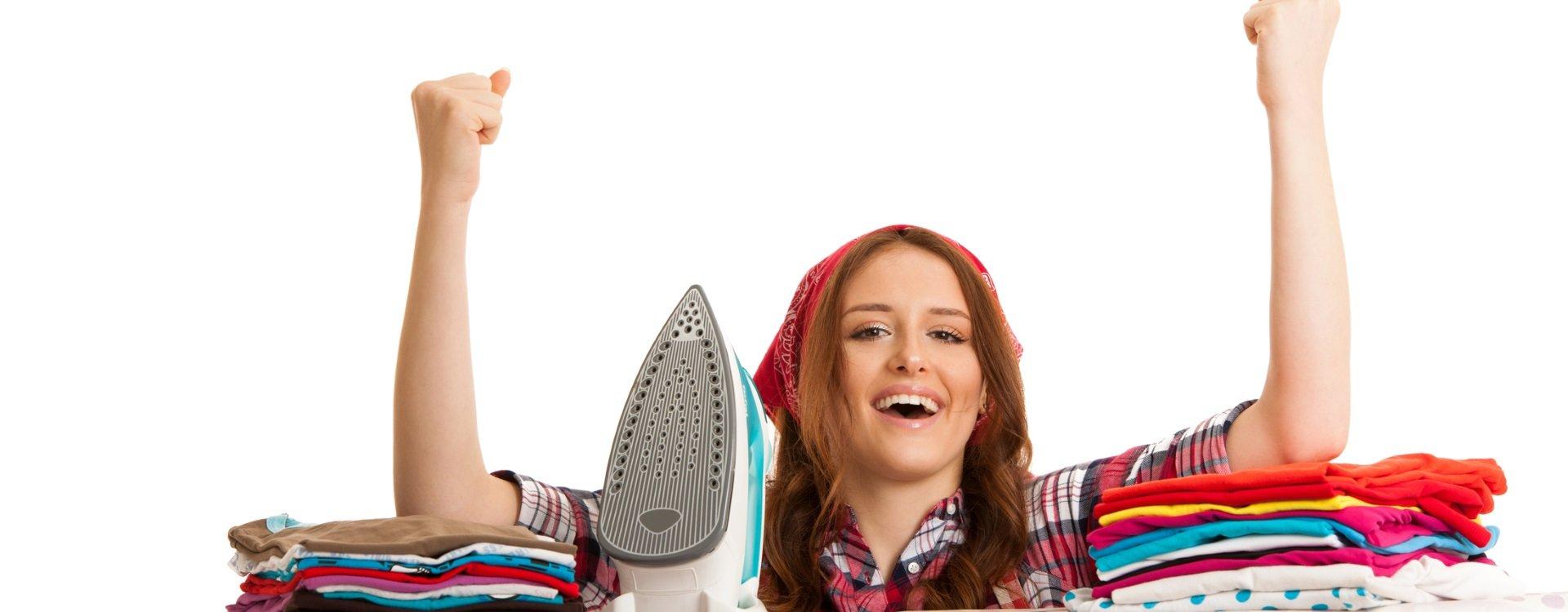 Bügeln kann auch Spaß machen
