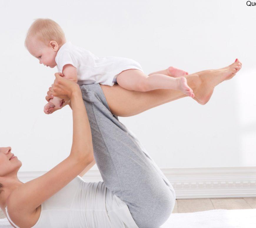 Schlank und fit nach der Entbindung