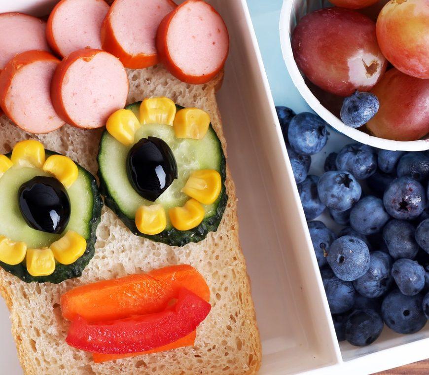 kreative und gesunde Lunchbox