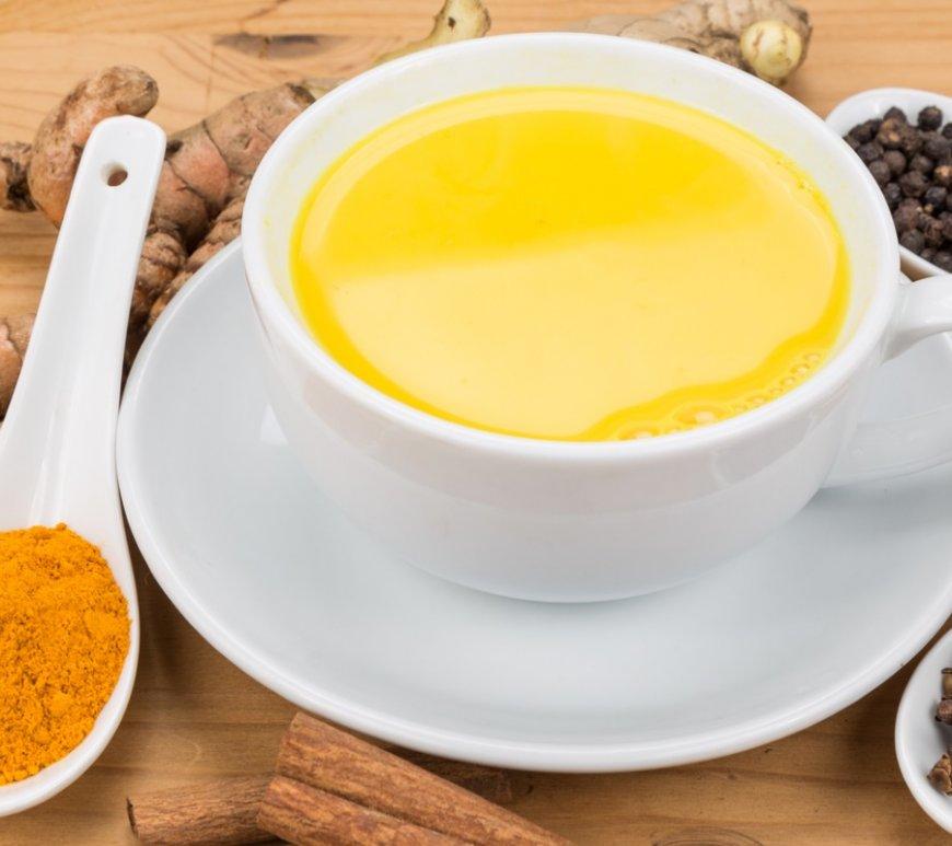 Zubereitung von Golden Milk