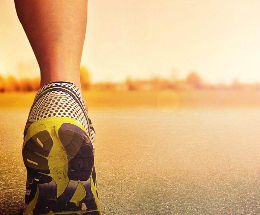Joggen macht gesund