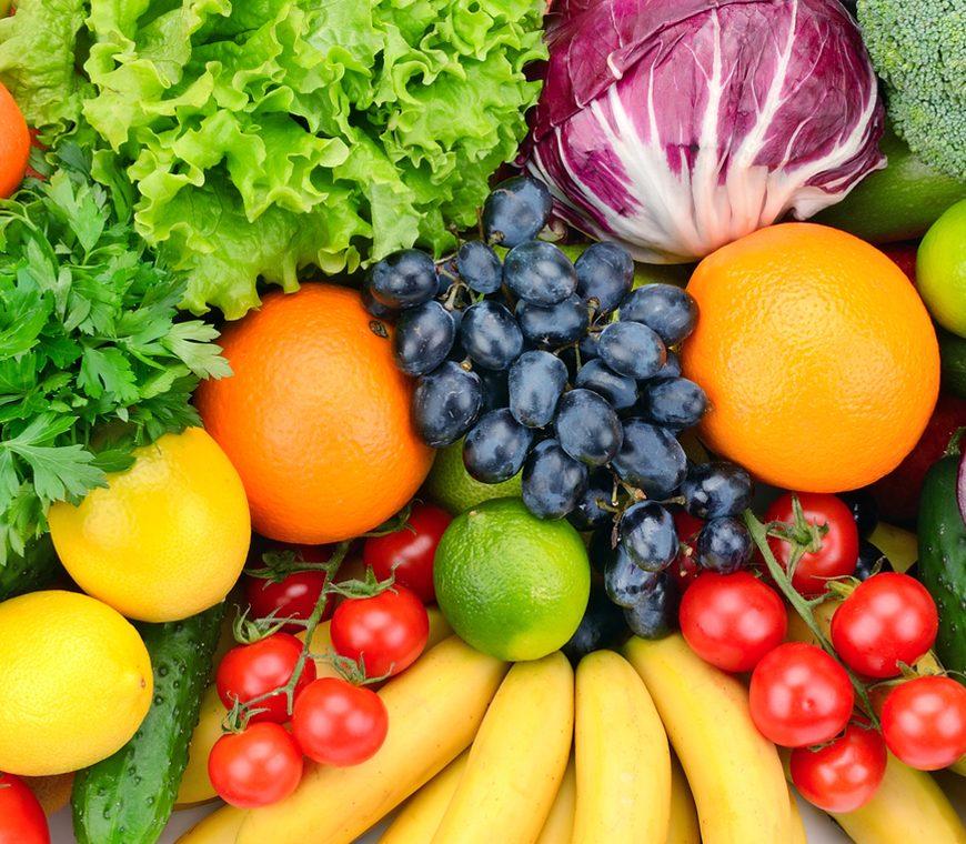 Inhaltsstoffe in Obst und Gemüse