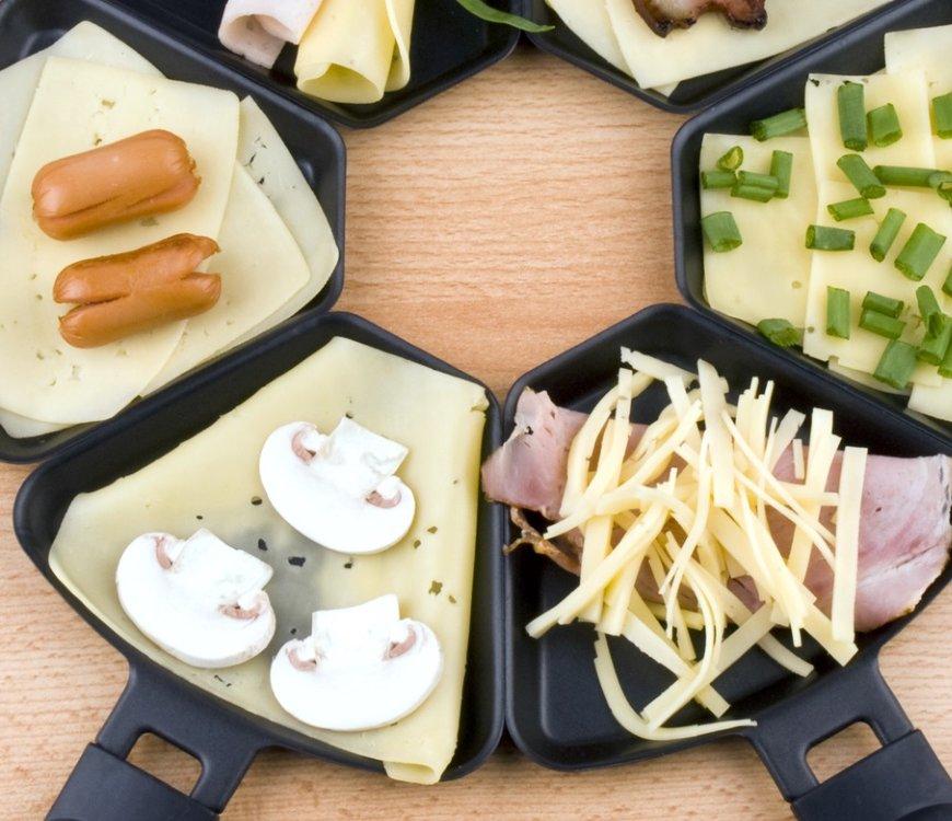 Raclette: Hier können sich Kinder ausprobieren!