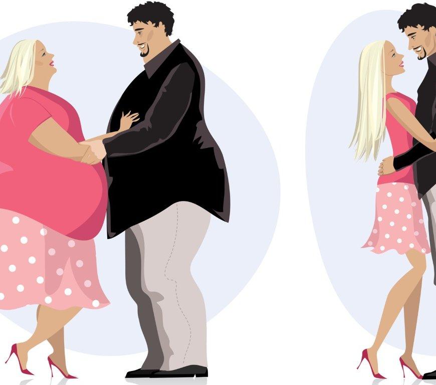 Dicke Liebe – Übergewicht bei Paaren