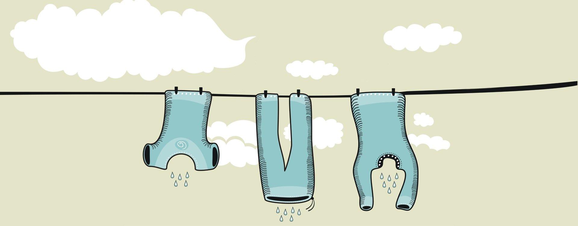 Perfekt deine Wäsche waschen